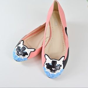 Urban Outfitters Cooperative Kitty Flats sz 7